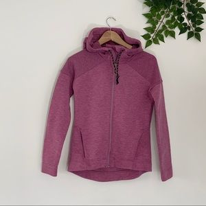 Sweaty Betty Cross Train Hoodie Grape Pink XS